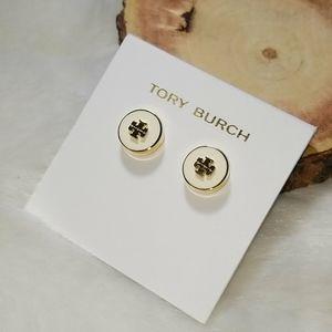Tory Burch enamel stud earrings